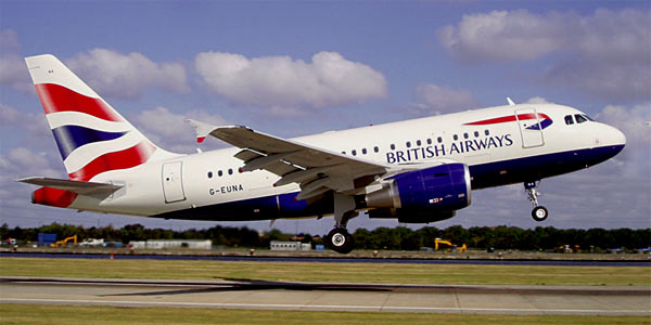 Airbus A318 British Airways