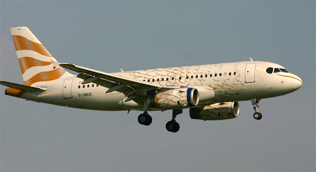 Airbus A319 British Airways Golden Bird