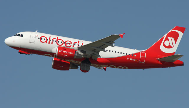 Airbus A319 Air Berlin