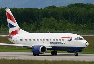 Boeing 737-300 British Airways