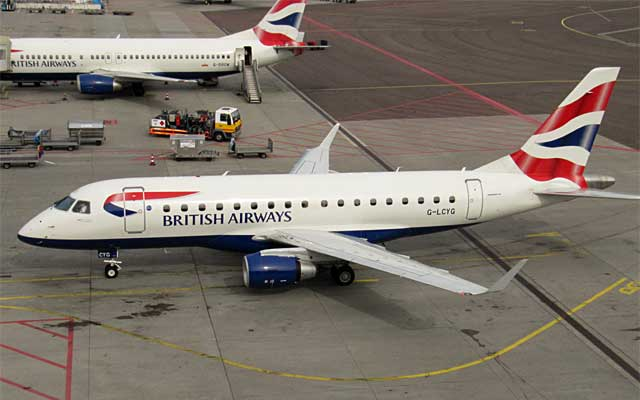 Embraer E-170 British Airways