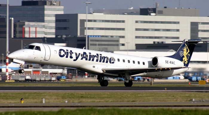 ERJ-145 City Airline