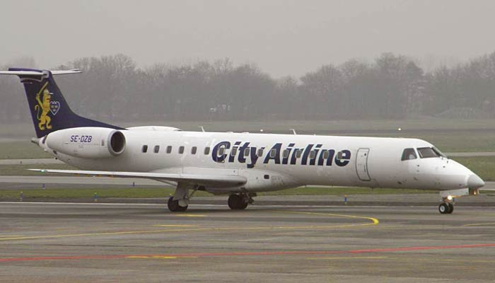 Embraer ERJ-145 City Airlines