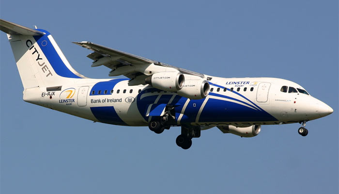 Avro RJ85 City Jet / Leinster Rugby