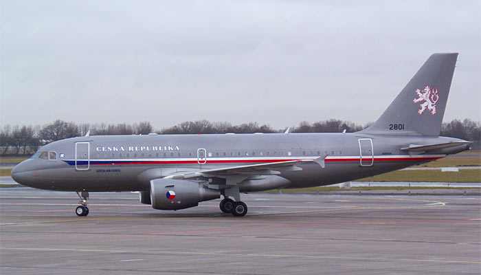 Airbus A319 Czech Air Force