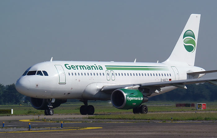Airbus A319 Germania