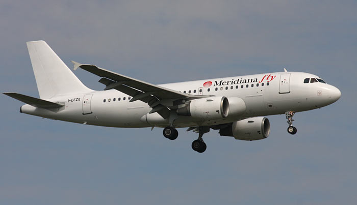 Airbus A319 Meridiana Fly