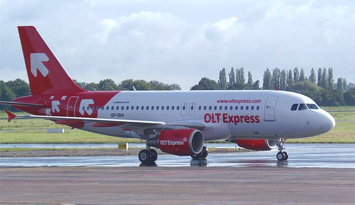 Airbus A319 OLT Express