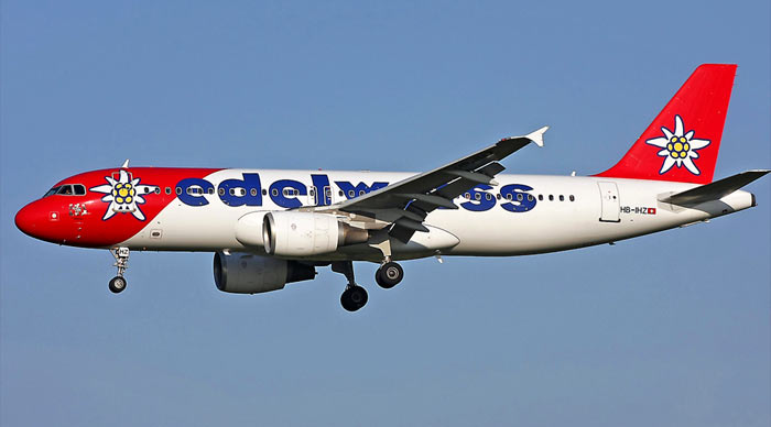 Airbus A320 Edelweiss