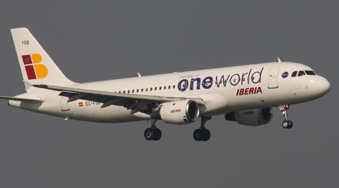 Airbus A320 Iberia / One World