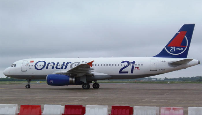 Airbus A320 Onur Air
