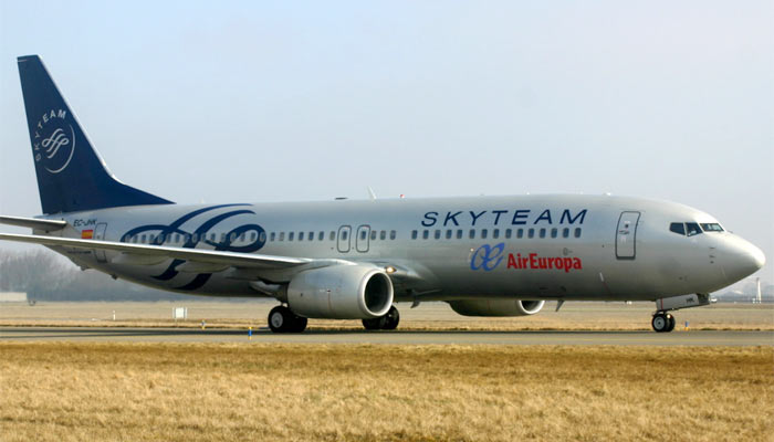 Boeing 737-800 Air Europa Skyteam