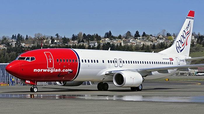 vloot norwegian airlines