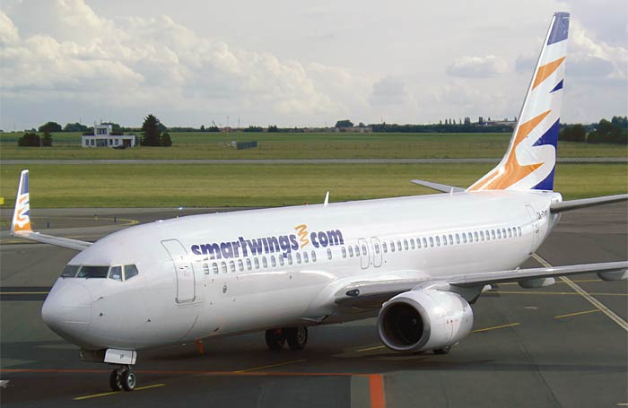 Boeing 737-800 Smartwings Airlines