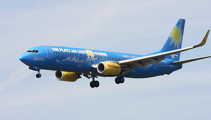 Boeing 737-800 TUIfly