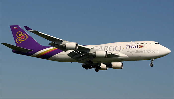 Boeing 747-400BCF Thai Airways International Cargo