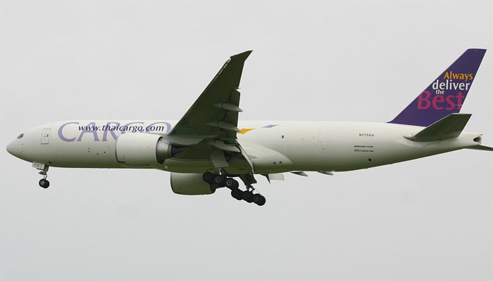 Boeing 777 Freighter Thai / Southern Air.