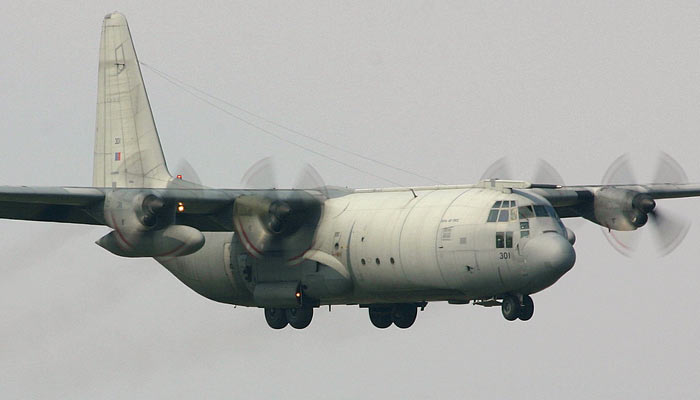 Lockheed C-130 Royal Air Force