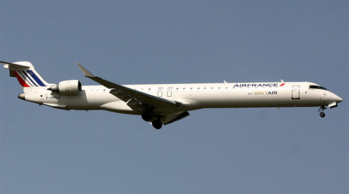 Bombardier CRJ-1000 Air France Britair