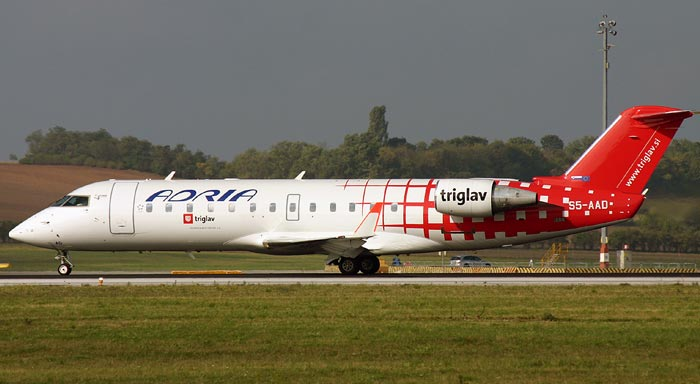 Bombardier CRJ200 Adria Airways