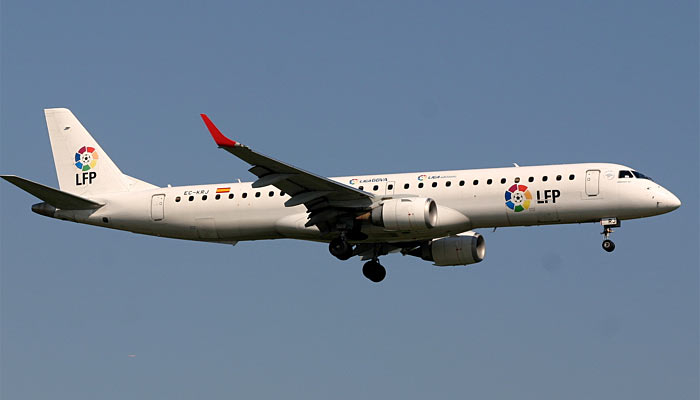 Embraer E-195 Air Europa LFP