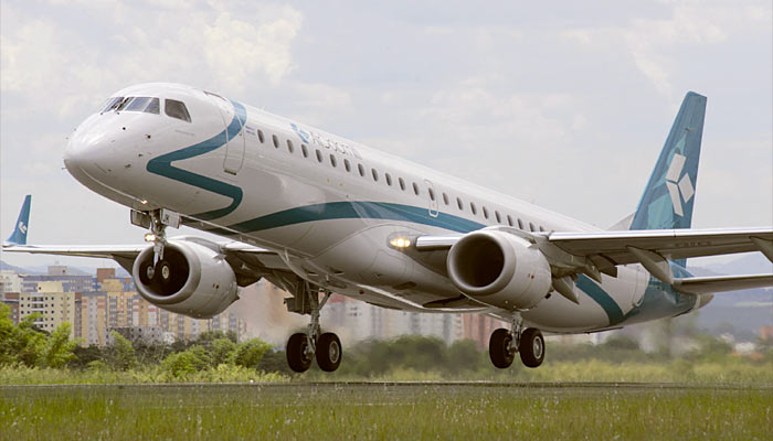 Embraer E-195 Air Dolomiti