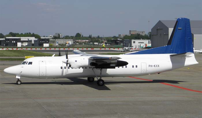 Fokker 50 Denim Air