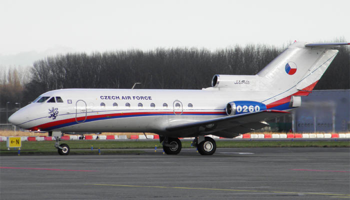 Yakovlev Yak-40 Czech Government